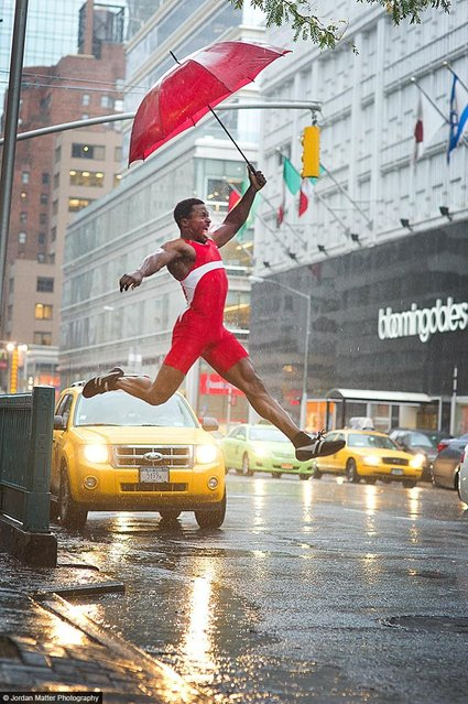 """Dry Feet"" – Femi Olagoke – Long Jumper. (Photo by Jordan Matter)"