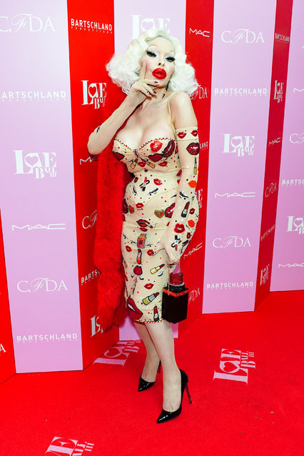 Amanda Lepore attends the LOVE Ball III – Arrivals at Gotham Hall on June 25, 2019 in New York City. (Photo by Sean Zanni/Patrick McMullan via Getty Images)