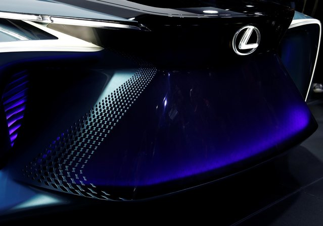 A Lexus LF-30 electric vehicle concept car is displayed at the Tokyo Motor Show, in Tokyo, Japan on October 23, 2019. (Photo by Edgar Su/Reuters)