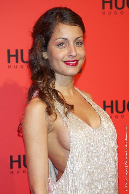 Actress Hiba Abouk attends Hugo Boss night party 2011