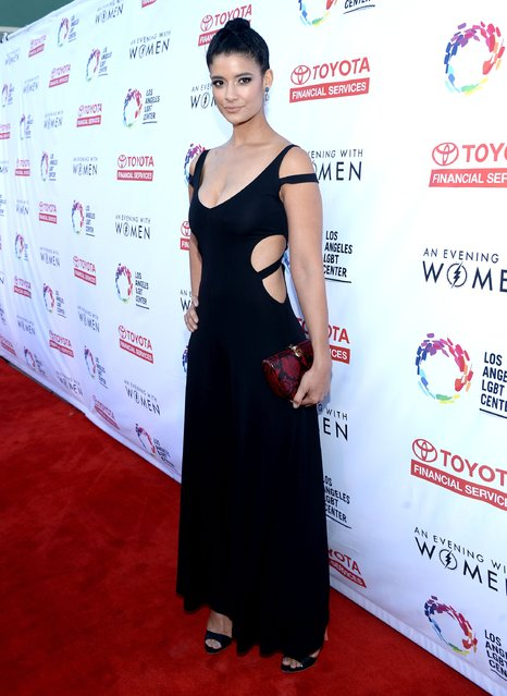 Actress Jessica Clark attends An Evening with Women benefiting the Los Angeles LGBT Center at the Hollywood Palladium on May 21, 2016 in Los Angeles, California. (Photo by Matt Winkelmeyer/Getty Images for Los Angeles LGBT Center)