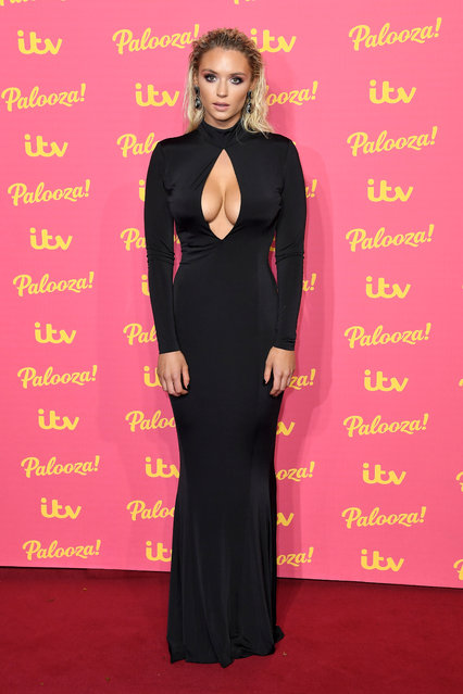 UK Love Island's Lucy Donlan attends the ITV Palooza 2019 at The Royal Festival Hall on November 12, 2019 in London, England. (Photo by Anthony Harvey/Rex Features/Shutterstock)