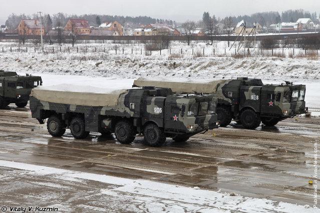 9T250 loading vehicle for Iskander-M system