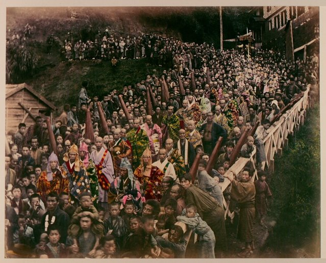 Buddhist Procession