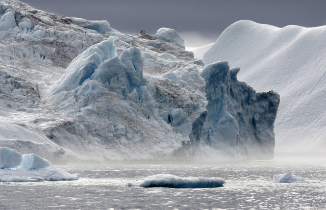 An iceberg is pictured in Ilulissat fjord in Greenland. (Photo by Michael Kappeler/Reuters)