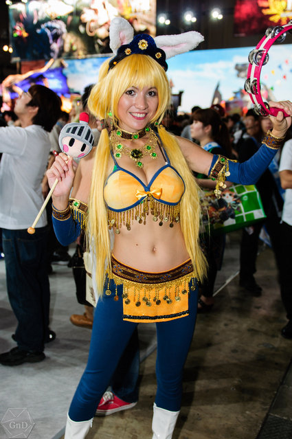 Hot Promotional Models and Cosplay Girls: Tokyo Game Show 2012