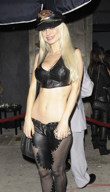 Playboy Bunny Izabella St. James sighting outside Warwick nightclub on November 01, 2013 in Hollywood, California. (Photo by Buzz Foto/Rex Features/Shutterstock)