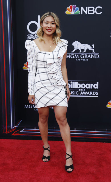 Olympic snowboarder Chloe Kim attends the 2018 Billboard Music Awards at MGM Grand Garden Arena on May 20, 2018 in Las Vegas, Nevada. (Photo by Steve Marcus/Reuters)