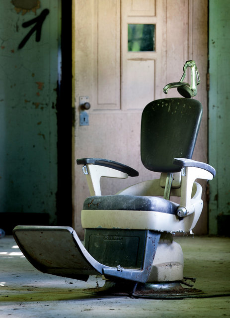 A few relics from the state hospital era lie scattered around the halls. (Photo by Will Ellis/Caters News)