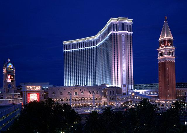 Art of The Motorcycle At Venetian Casino In Las Vegas