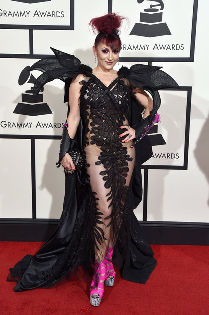 Recording artist Jacqueline Van Bierk attends The 58th GRAMMY Awards at Staples Center on February 15, 2016 in Los Angeles, California. (Photo by John Shearer/WireImage)