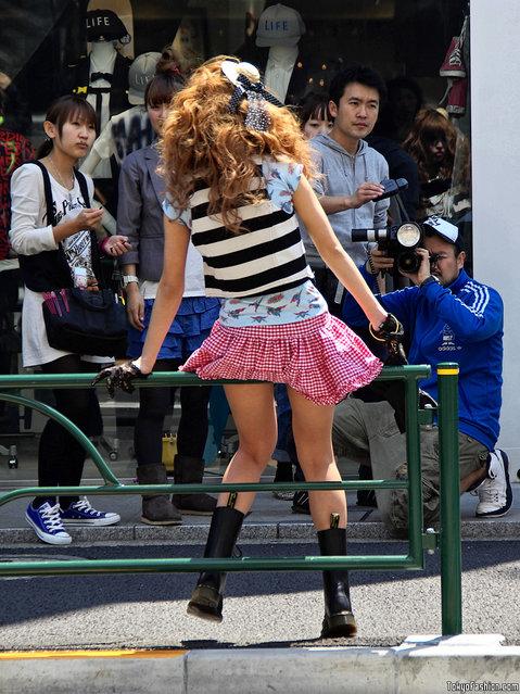 Harajuku Girl Photo Shoot. (Photo by Tokyo Fashion)