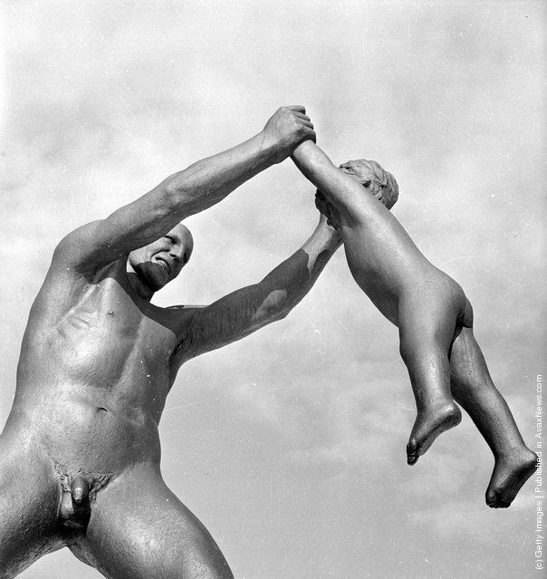 Gustav Vigeland Sculpture Park Fatherly Love