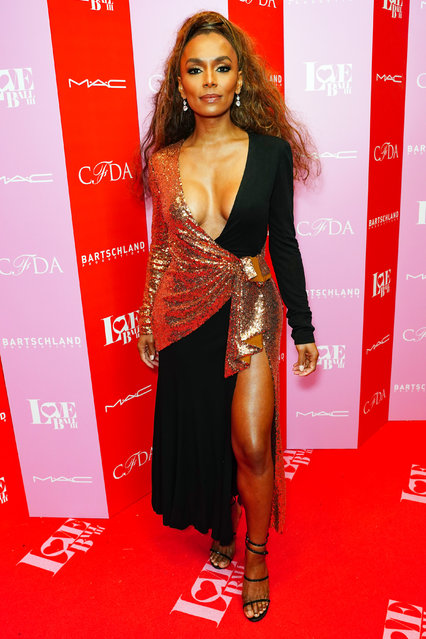 Janet Mock attends the LOVE Ball III – Arrivals at Gotham Hall on June 25, 2019 in New York City. (Photo by Sean Zanni/Patrick McMullan via Getty Images)