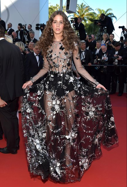 """Coco Koenig during the """"Ismael's Ghosts (Les Fantomes d'Ismael)"""" screening and Opening Gala during the 70th annual Cannes Film Festival at Palais des Festivals on May 17, 2017 in Cannes, France. (Photo by Pascal Le Segretain/Getty Images)"""