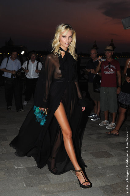 Natasha Poly attends the 2011 GUCCI Award For Women In Cinema at Hotel Cipriani