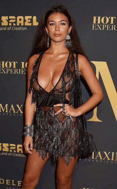 Brit swimsuit model Erin Willerton attends The 2018 Maxim Hot 100 Party at Hollywood Palladium on July 21, 2018 in Los Angeles, California. (Photo by Broadimage/Rex Features/Shutterstock)