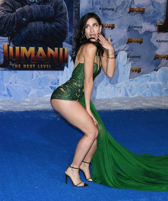 """Brooklyn Beckham's ex Lexy Panterra attends the premiere of Sony Pictures' """"Jumanji: The Next Level"""" on December 09, 2019 in Hollywood, California. (Photo by Jon Kopaloff/Getty Images,)"""