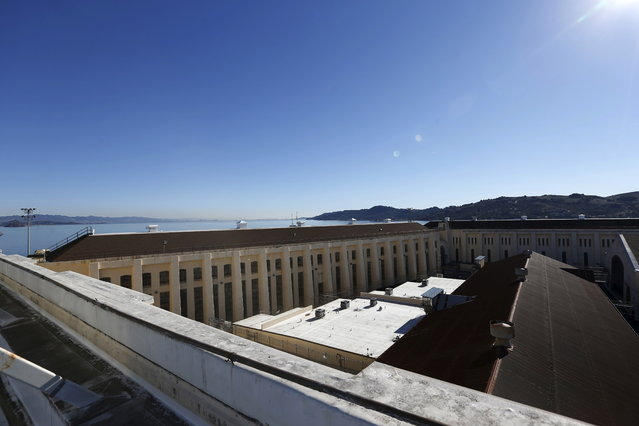 A general view of San Quentin State Prison during a media tour of California's Death Row in San Quentin, California December 29, 2015. (Photo by Stephen Lam/Reuters)