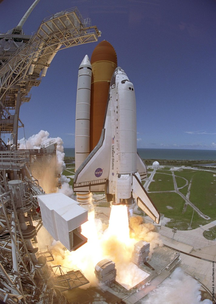Space Shuttle Discovery. Last Mission