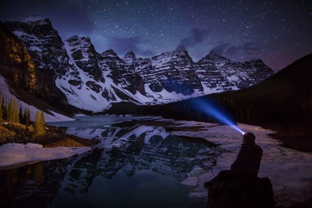 Paul Zizka, 34, began experimenting with night photography just two years ago and immediately became fascinated with the spectacular scenes he discovered. (Photo by Paul Zizka/Caters News)