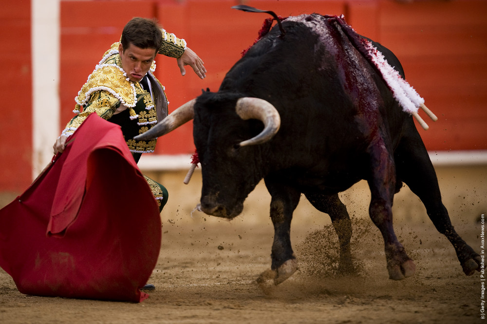 Bullfights In Barcelona 2011