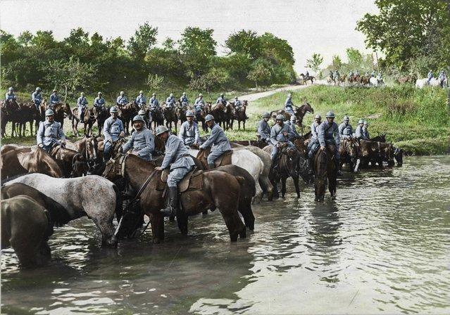 Louppy-le-Petit, 1916. (Photo by Frédéric Duriez/BDIC/Mediadrumworld.com)