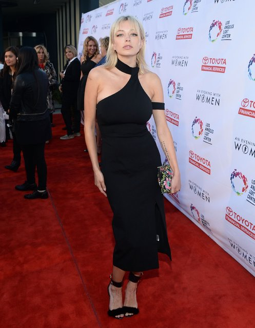 Singer Caroline Vreeland attends An Evening with Women benefiting the Los Angeles LGBT Center at the Hollywood Palladium on May 21, 2016 in Los Angeles, California. (Photo by Matt Winkelmeyer/Getty Images for Los Angeles LGBT Center)
