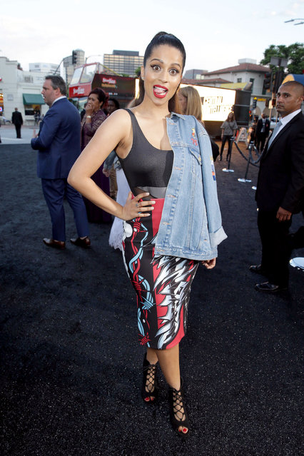 "Lilly Singh seen at New Line Cinema's Los Angeles Premiere of ""Central Intelligence"" at Regency Village Theater on Friday, June 10, 2016, in Los Angeles. (Photo by Eric Charbonneau/Invision for Warner Bros./AP Images)"