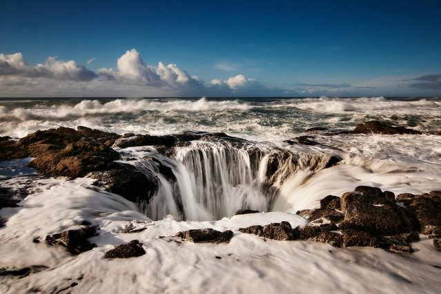 Thor's Well in Cape Perpetua