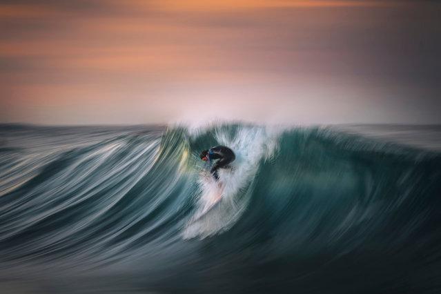 """Warrior"". (Photo by Gergo Rugli/2020 Nikon Surf Photography Awards)"