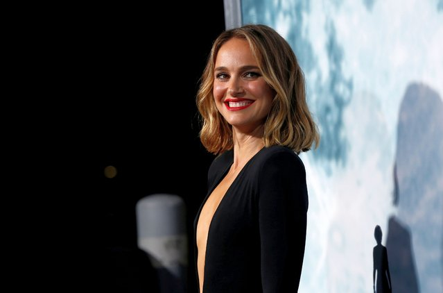 """Cast member Natalie Portman arrives at a premiere for the film """"Lucy in the Sky"""" in Los Angeles, California, U.S., September 25, 2019. (Photo by Mario Anzuoni/Reuters)"""
