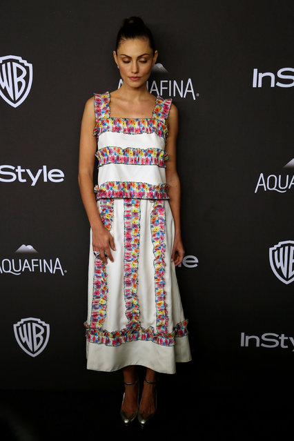 Actress Phoebe Tonkin attends the 17th Annual Instyle and Warner Bros. Pictures Golden Globes After Party in Beverly Hills, California January 10, 2016. (Photo by David McNew/Reuters)