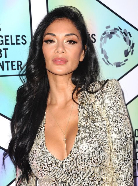 Nicole Scherzinger arrives at the Los Angeles LGBT Center's 49th Anniversary Gala Vanguard Awards at The Beverly Hilton Hotel on September 22, 2018 in Beverly Hills, California. (Photo by MediaPunch/Rex Features/Shutterstock)