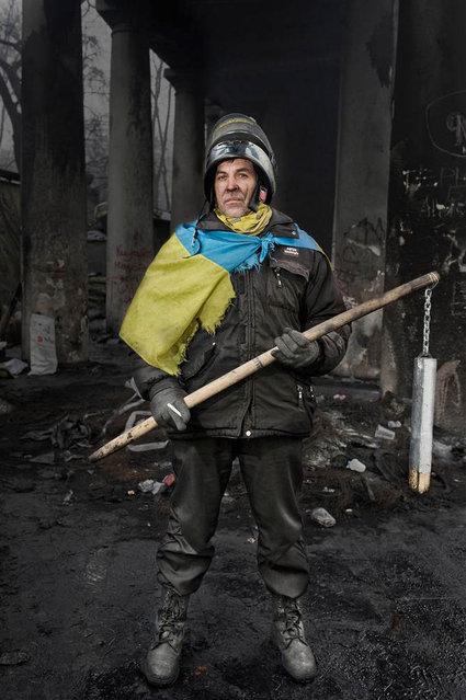 Portraits Of Kiev's Maidan Protesters
