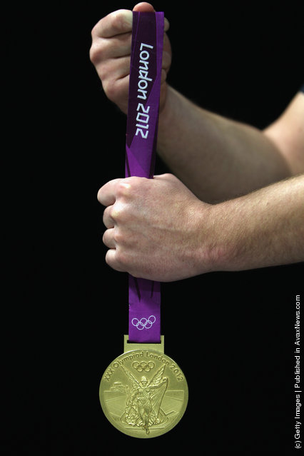 London 2012 victory medals