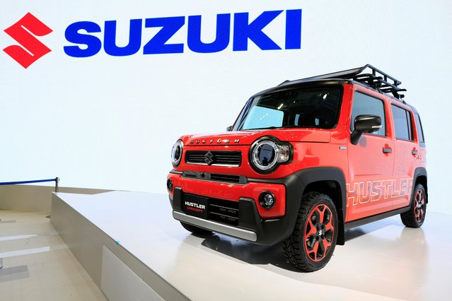 Suzuki's Hustler Concept car is displayed during the Tokyo Motor Show, in Tokyo, Japan on October 23, 2019. (Photo by Soe Zeya Tun/Reuters)