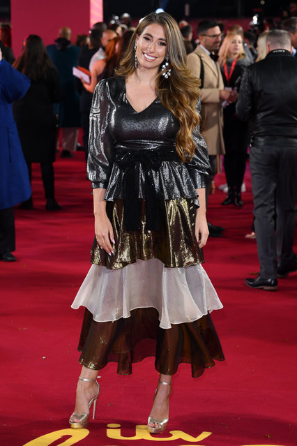 Stacey Solomon attends the ITV Palooza 2019 at The Royal Festival Hall on November 12, 2019 in London, England. (Photo by David Fisher/Rex Features/Shutterstock)