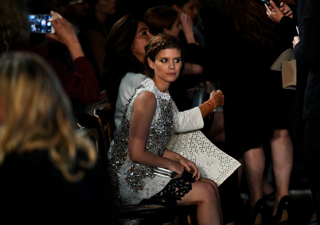 Actress Kate Mara attends the Dior Cruise 2017 Collection fashion show inside Blenheim Palace in Woodstock, Britain May 31, 2016. (Photo by Dylan Martinez/Reuters)