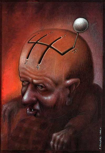 Satirical Art of Pawel Kuczynski