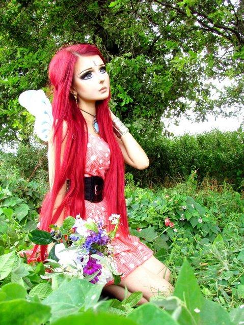 """Human Anime Doll"" Anastasiya Shpagina. (Photo by Anastasiya Shpagina)"
