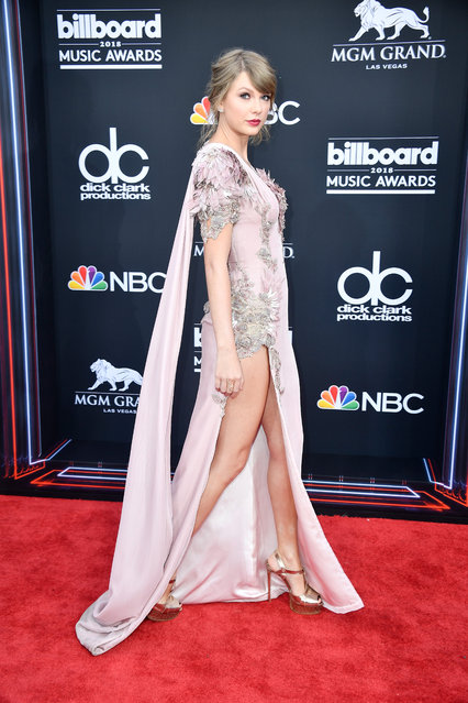 Recording artist Taylor Swift attends the 2018 Billboard Music Awards at MGM Grand Garden Arena on May 20, 2018 in Las Vegas, Nevada. (Photo by Frazer Harrison/Getty Images)