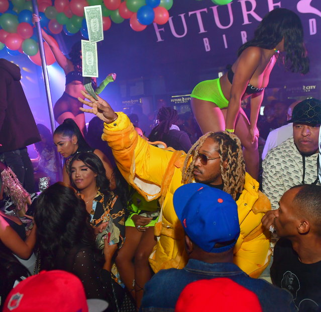 Rapper Future attends his 'Future City' Birthday Party at Magic City on November 20, 2018 in Atlanta, Georgia.(Photo by Prince Williams/Wireimage)