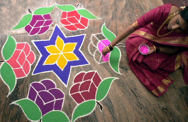 Rangoli Folk Art From India