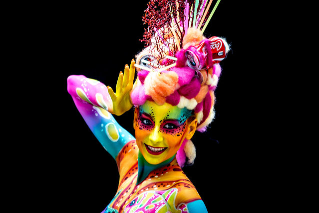 World Bodypainting Festival 2014. Photographed July 4th in Poertschach am Woerthersee, Austria. (Photo by Jan Hetfleisch/Getty Images)