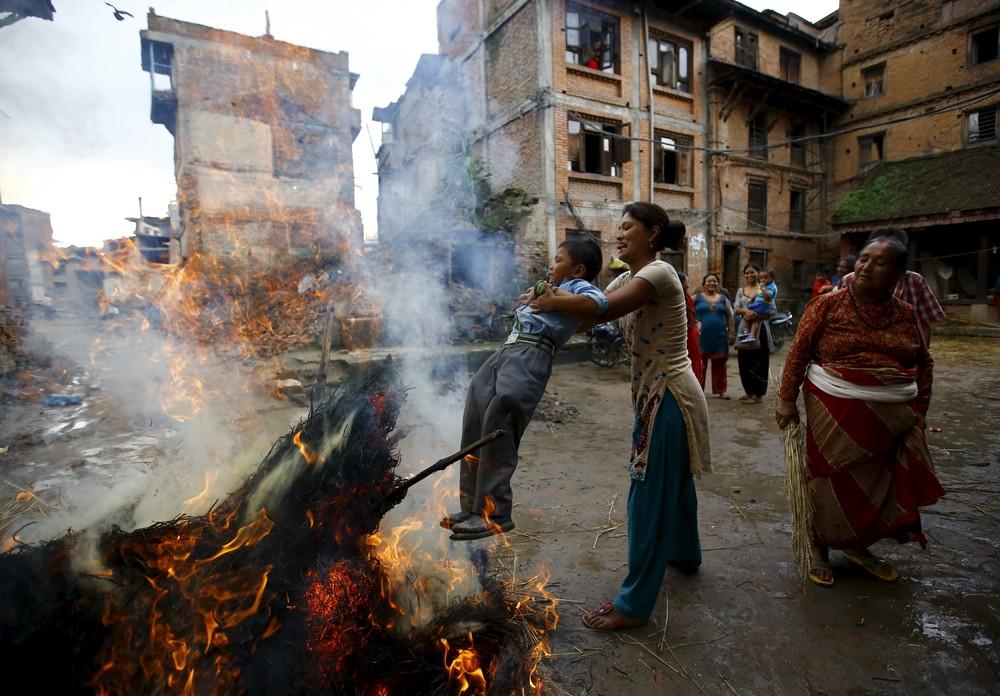 Ghantakarna Festival in Nepal