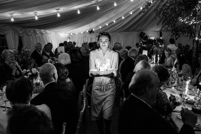 Wedding food photographer – Just Desserts by Thomas Alexander. Sponsored by Taittinger Champagne. (Photo by Thomas Alexander/Pink Lady Food Photographer Award 2020)