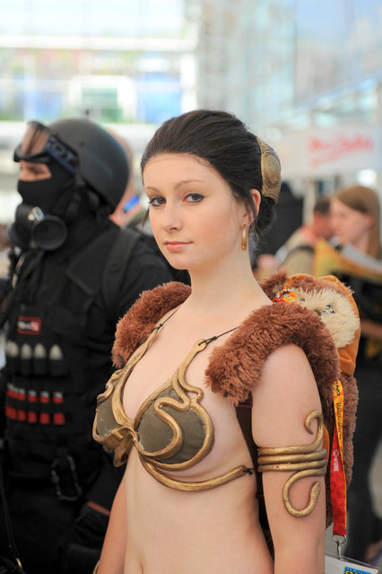 San Diego Comic-Con 2012: Slave Leia. (Photo by Kendall Whitehouse)