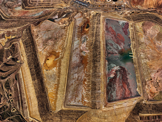 Morenci Mine #2, Clifton, Arizona, USA, 2012. (Photo by Edward Burtynsky/Metivier Gallery, Toronto/Flowers Gallery, London)