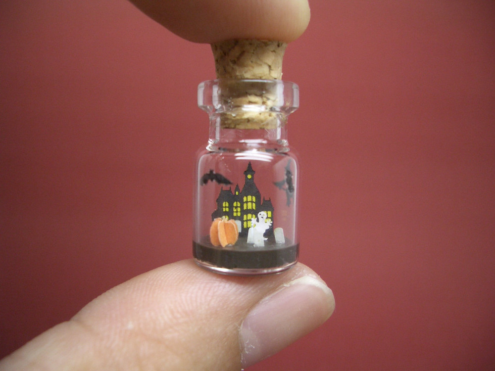 Tiny World in a Bottle (Video)